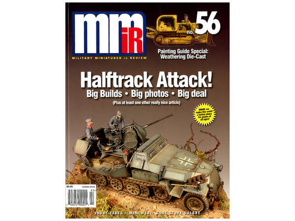Lot 5 MMir Military Miniatures in Review magazines 2011 2013 NICE!