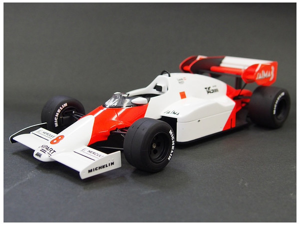 1 20 mclaren mp4 2 1984 british grand prix by aoshima hobbylink japan. Black Bedroom Furniture Sets. Home Design Ideas