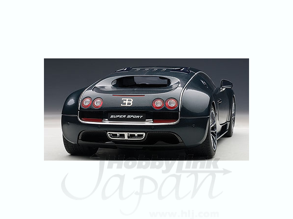 1 18 bugatti veyron super sport dark blue by auto art japan hobbylink japan. Black Bedroom Furniture Sets. Home Design Ideas