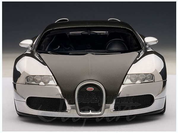 1 18 bugatti veyron pur sang by auto art japan hobbylink japan. Black Bedroom Furniture Sets. Home Design Ideas