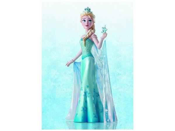 Disney showcase frozen elsa couture de force statue by for Couture de force elsa