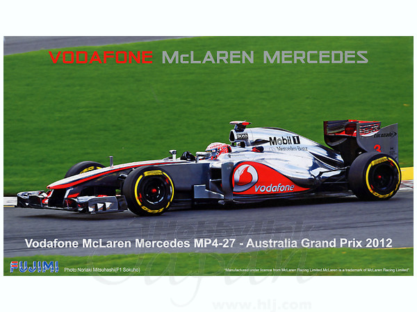 1 20 mclaren mp4 27 australia grand prix by fujimi hobbylink japan. Black Bedroom Furniture Sets. Home Design Ideas