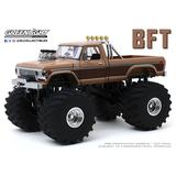 1/18 GreenLight Kings of Crunch BFT 1978 Ford F350 Monster Truck with 66Inch Tires