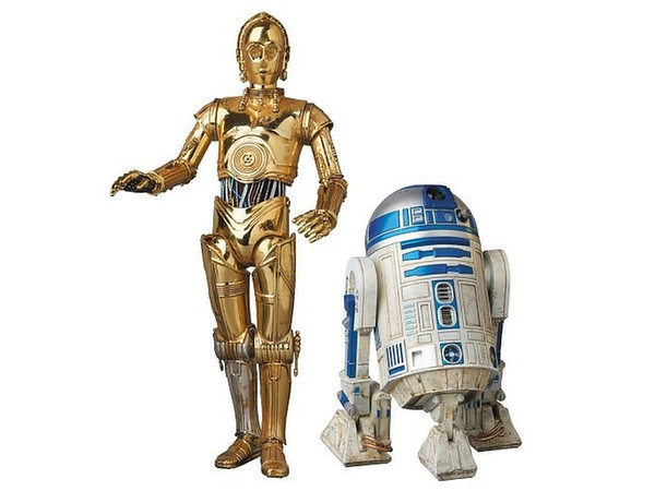 R2d2 And C3po MAFEX Star Wars...