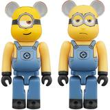 BE@RBRICK STUART & KEVIN 2PACK Despicable Me 3