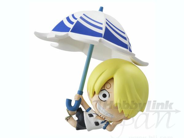 petite chara land one piece sky parasol ver 1 box 10pcs by megahouse hobbylink japan. Black Bedroom Furniture Sets. Home Design Ideas