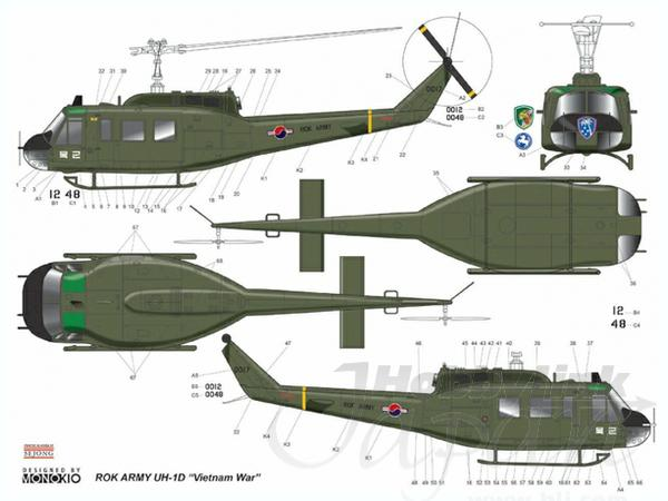 ... Army Hueys used in Vietnam. Several marking options are provided for Army Helicopters In Action