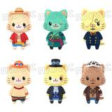 ONE PIECE withCAT 1Box 6pcs