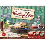 SNOOPY & FRIENDS TERRARIUM Words of Love 1Box 6pcs