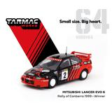 1/64 Mitsubishi Lancer Evo 6 Winner Rally of Canberra 1999 ドライバー: Y.Kataoka/S.Hayashi