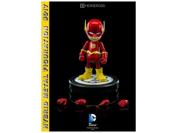86hero 2015 Herocross Hybrid Metal Figuration #017 DC Comics The Flash Figure