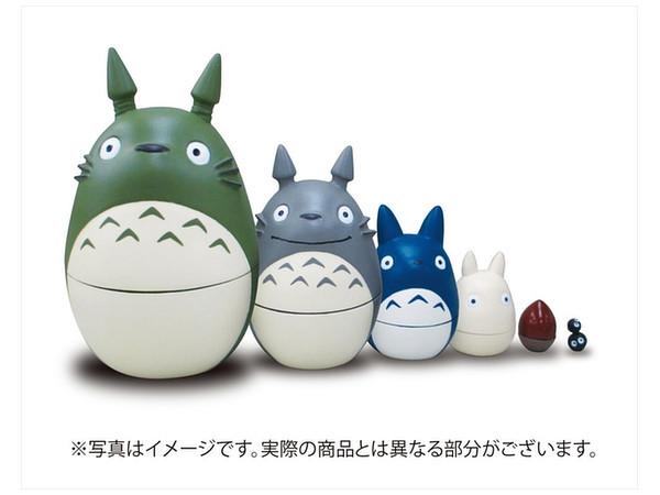 Totoro May: My Neighbor Totoro Matryoshka Nesting Dolls By Ensky