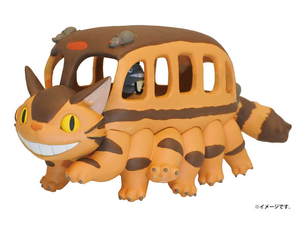 Kumu Puzzle 3D Jigsaw My Neighbor Totoro Catbus 18pcs