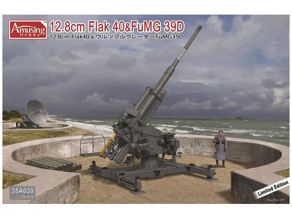 1/35 12.8cm Flak 40 & FuMG 39D...