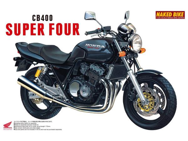 1/12 Honda CB 400 Super Four Black by Aoshima | HobbyLink ...