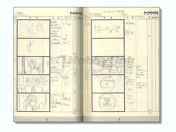 Anime Style Archive Summer Wars Storyboards By Asuka Shinsha