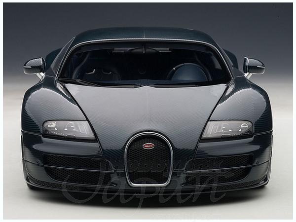 1/18 Bugatti Veyron Super Sport (Dark Blue) ...