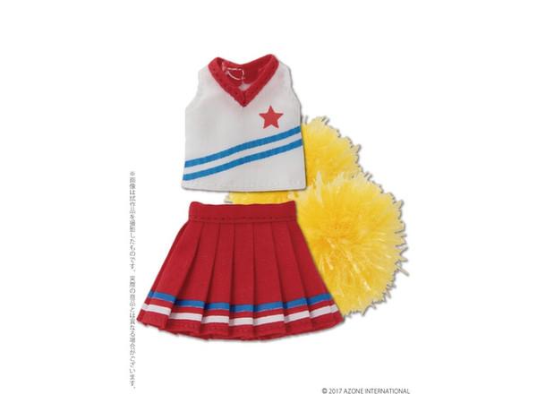 For Doll AZONE International 1//12 Soft Vinyl High Cut Sneaker Red × White
