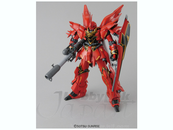 1/100 MG Sinanju by Bandai | HobbyLink Japan
