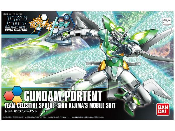 1 144 hgbf gundam portent by bandai hobbylink japan for Portent gundam hg
