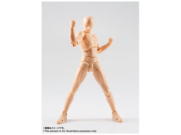 Pale Orange s.h.figuarts body-kun dx set pale orange color ver.bandai