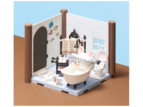 Bathroom Kit haco room kuma no gakkou: bathroom kitbandai | hobbylink japan
