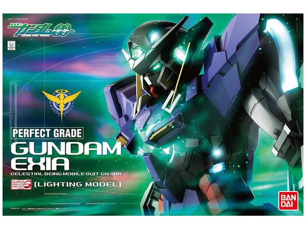 1/60 PG Gundam Exia (Lighting Model) by Bandai | HobbyLink ...