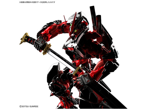1/100 Hi Resolution Model Gundam Astray Red Frame ...