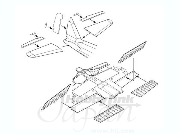 172 Mitsubishi A6m5 Control Surfaces Set By Cmk