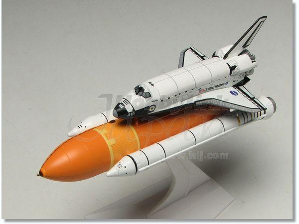 1/400 Space Shuttle Atlantis w/ SRB Last Mission by Dragon ...