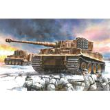 WW.II German Tiger I Medium 506th Heavy Tank Battalion Eastern Front 1944 w/Zimmerit Coating & Magic Track