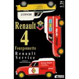 1/24 Renault 4 Fourgonnette Service Car
