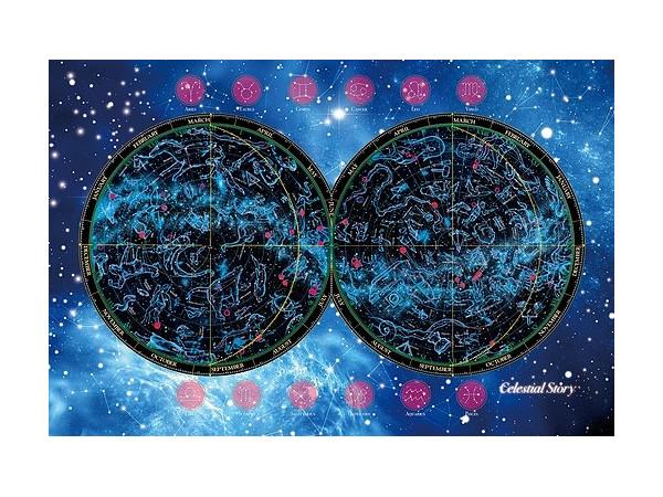 Mezase Puzzle no Tatsujin: Map Luminescent Puzzle Story of the Star Sky  1000pcs