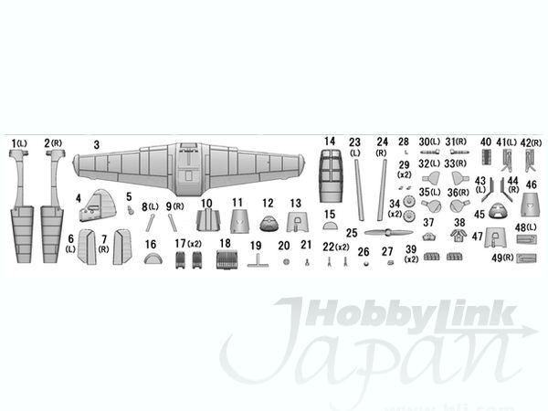 1/144 メッサーシュミット Bf-108 タイフン フルキット