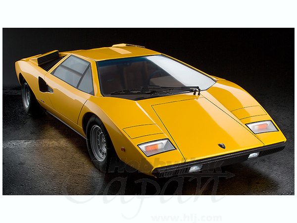 1 12 lamborghini countach lp400 yellow by good smile company hobbylink japan. Black Bedroom Furniture Sets. Home Design Ideas