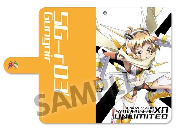 Senki Zessho Symphogear XD Unlimited Notebook Type Smartphone Case Hibiki  Tachibana (Garyu : Mumyo Rensatsu) M
