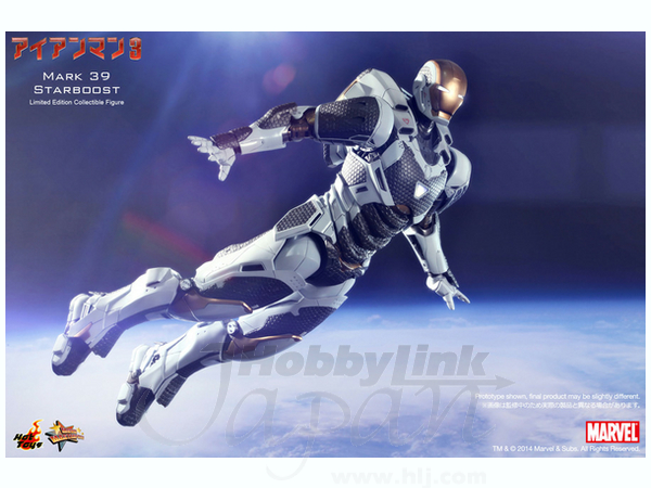 1/6 Iron Man 3: Mark 39 Starboost by Hot Toys | HobbyLink ...