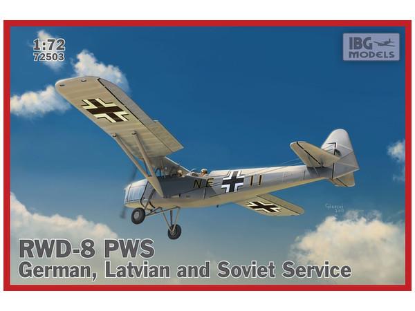 1/72 ポーランド複座練習機RWD-8...