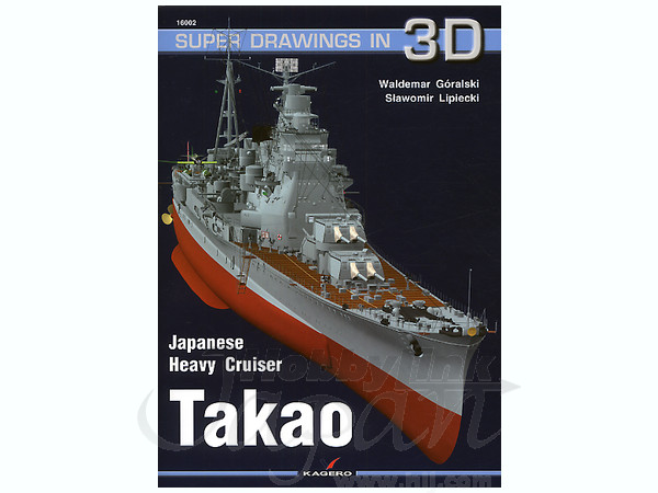 Ijn Heavy Cruiser Takao By Kagero
