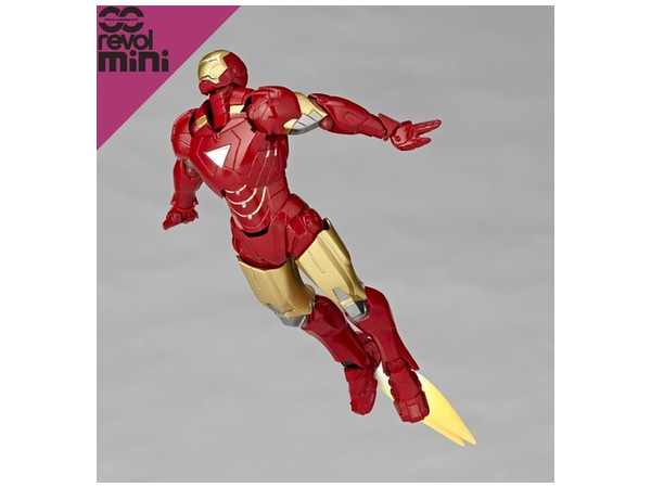 Micro yamaguchi revol mini iron man mark 6 by kaiyodo - Mini iron man ...