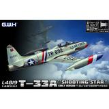 1/48 T-33A 練習機 初期型 米・独・伊 エッチングパーツ付き
