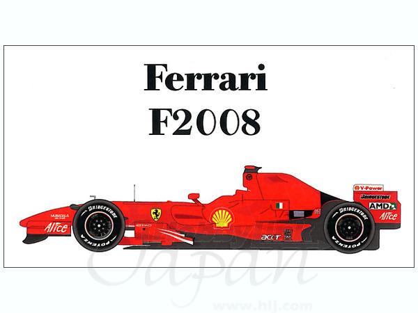 1/20 フェラーリ F2008 バーレー...