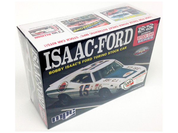 Stock Car Products: 1/25 1972 ISAAC Ford Torino Stock Car By MPC