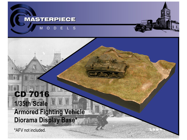 1/35 AFV Diorama Display Base