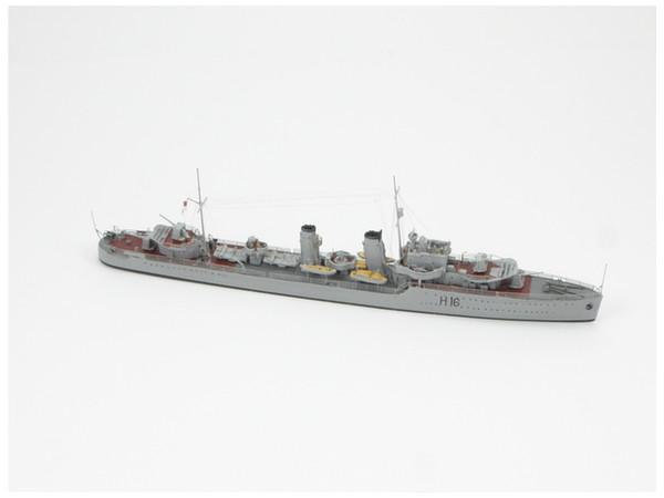 1/700 H.M.S. デアリング級駆逐艦 H-16 1940 by ニコモデル | ホビー ...