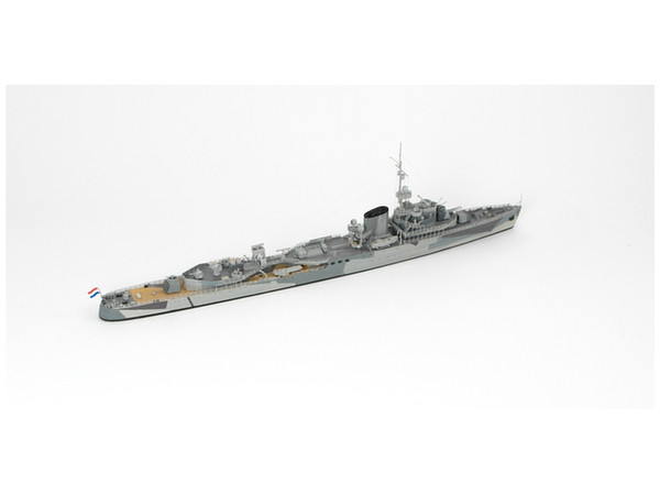 1/700 Dutch Light Cruiser HMLMS Tromp 1942 by Niko Models