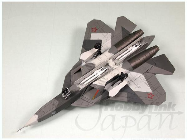 1/144 ロシア 試作戦闘機 PAK FA T-50 塗装済完成品
