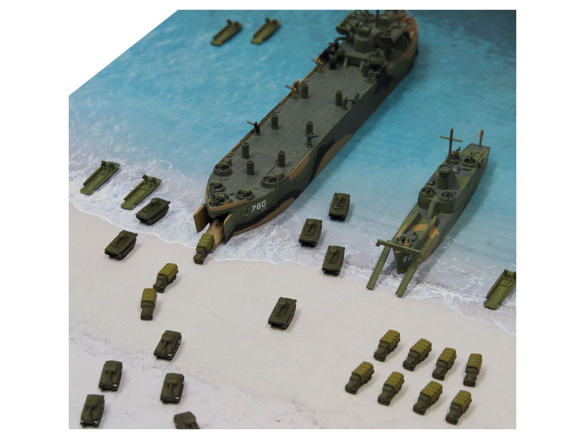 1/700 WWII イオージマ上陸作戦