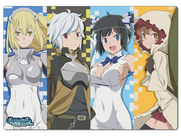 Is It Wrong to Try to Pick Up Girls in a Dungeon? Plastic Sheet A ...