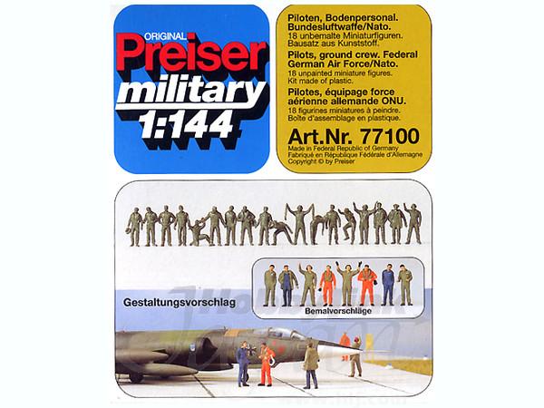 1/144 Federal German AF/NATO Pilots & Ground Crew Set (8pcs)